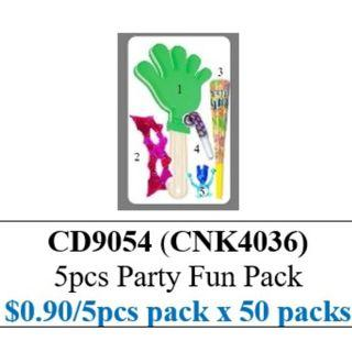 Children's Day Special - Party Pack - Hand Clapper Mask Horn Blowout Click Clack ($45/50 packs bundle) HSEN