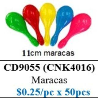 Children's Day Special - Maracas 11cm ($12.50/50pcs pack) HSEN