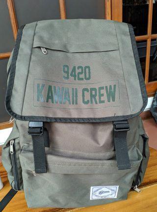 Tas Backpack Berak Kawaii crew
