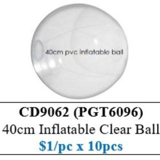 Children's Day Special - Inflatable Clear Ball ($10/10pcs bundle) HSEN