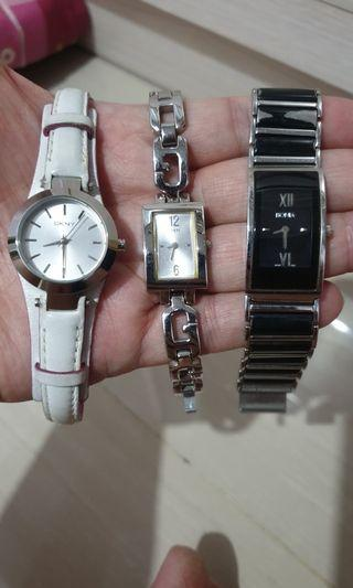 Branded Watches - DKNY, Guess, Bonia