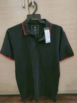 BNWT FSBN Black Polo Tee Slim Fit