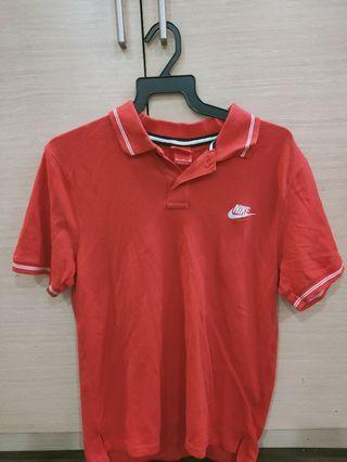 Nike Red Polo Tee