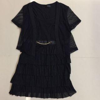 設計款黑色洋裝
