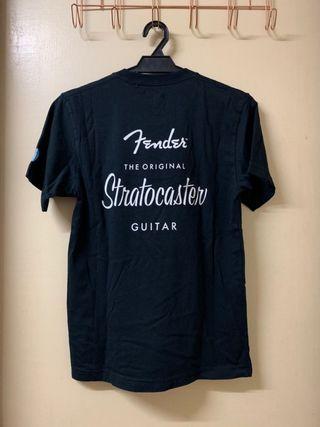 Uniqlo Fender Stratocaster Series Black T-Shirt