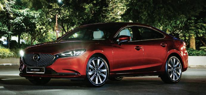 Mazda 6 2.5L Sedan 6AT Premium