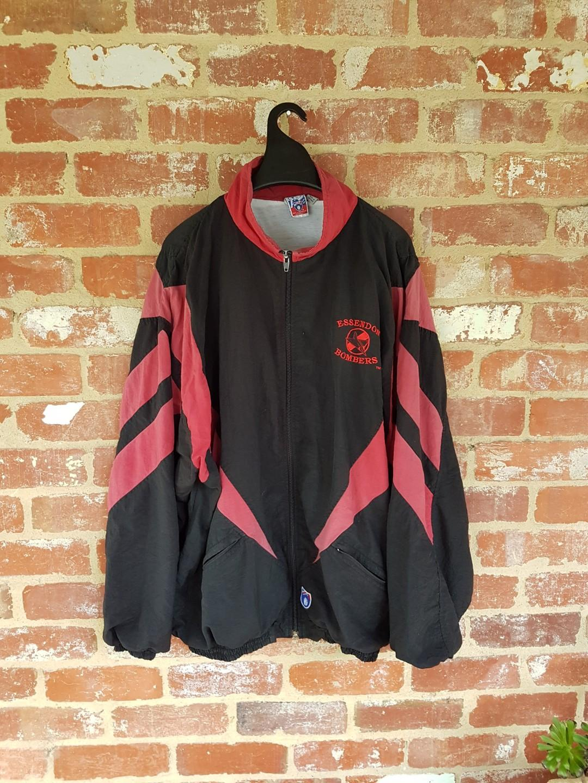 1975 Bombers Vintage Jacket AFL Essendon XL - Free Post