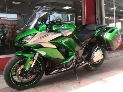 [出售]2018 總代理 Kawasaki Z1000 SX ABS 只跑10558公里 新車3年保固中 車況極優 保證原漆 無事故 無調表 否則原價收回 免頭款 可分期 超低月付
