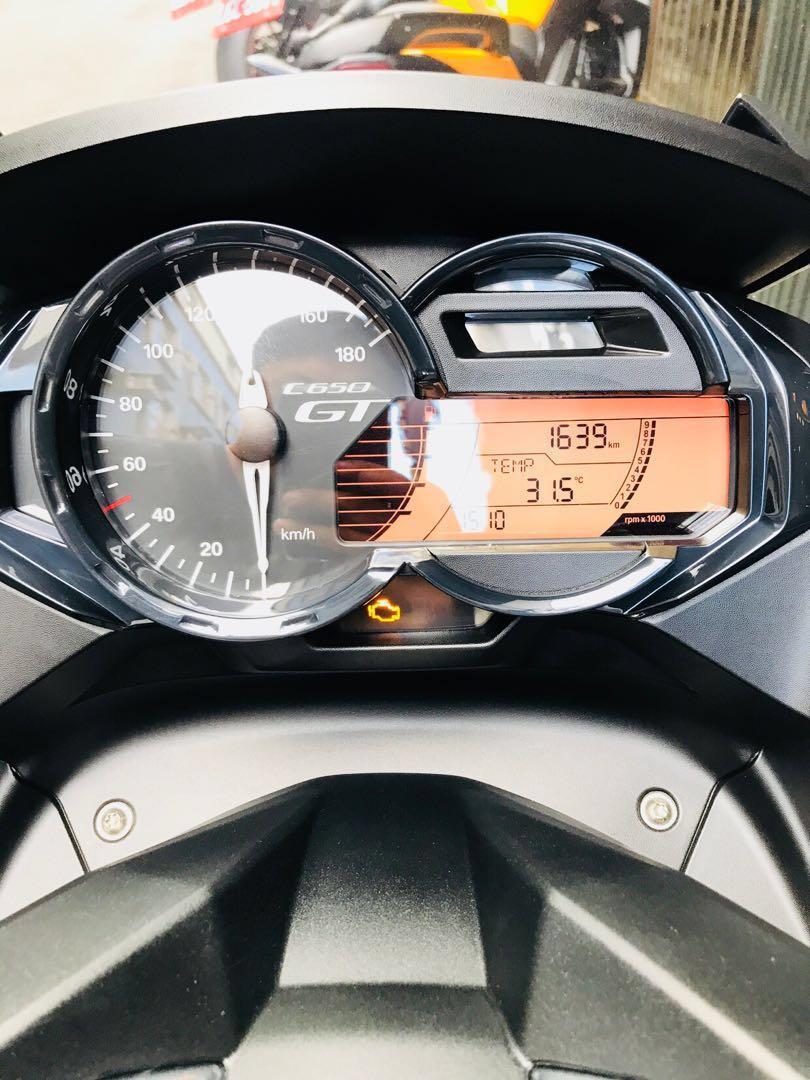 2018年 Bmw C650GT ABS 總代理 只跑一千多公里 可分期 免頭款 歡迎車換車 網路評價最優 業界分期利息最低 大羊 紅牌 C650 sport AK550 漢堡 Tmax 可參考