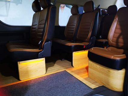 Custom Wood Work👍👍👍Another set of interior illumination done on this wonderful hiace! Wonderfully done with class.   Have yours customised now!  #hiace #quality #style