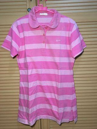 Top Pink Strippes