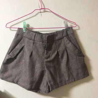 秋意短褲(咖色)