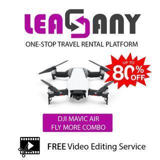 Rental: DJI Mavic Air Fly More Combo