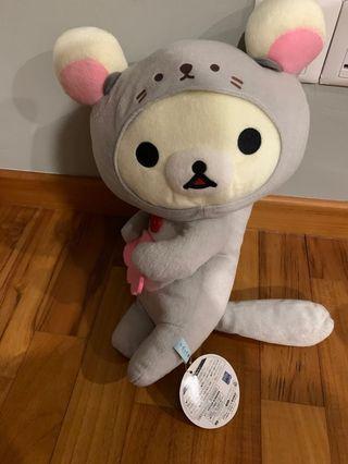 rilakkuma soft toy white friend