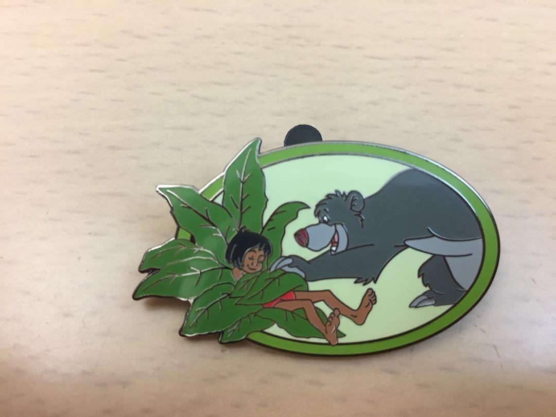 廸士尼 魔幻森林襟章 Disney The Jungle Book Pin