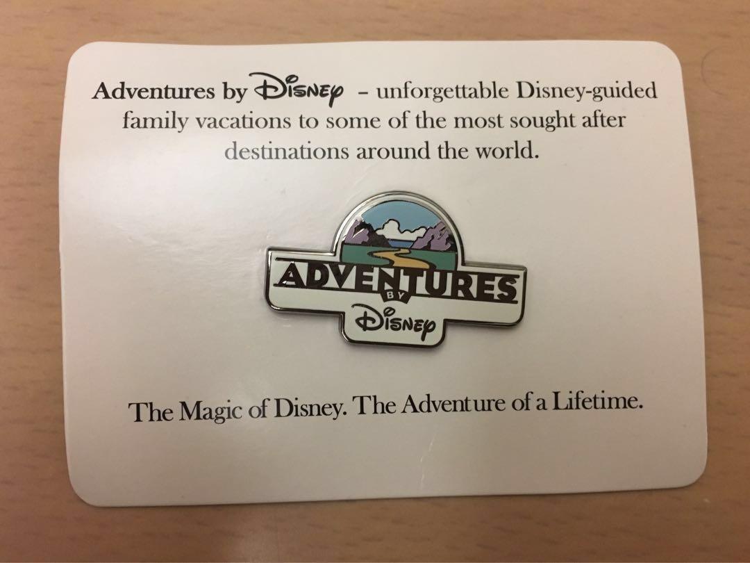 廸士尼 adventures by Disney 私人導賞團襟章 非賣品 Adventure by Disney Private Guided Tour Pin