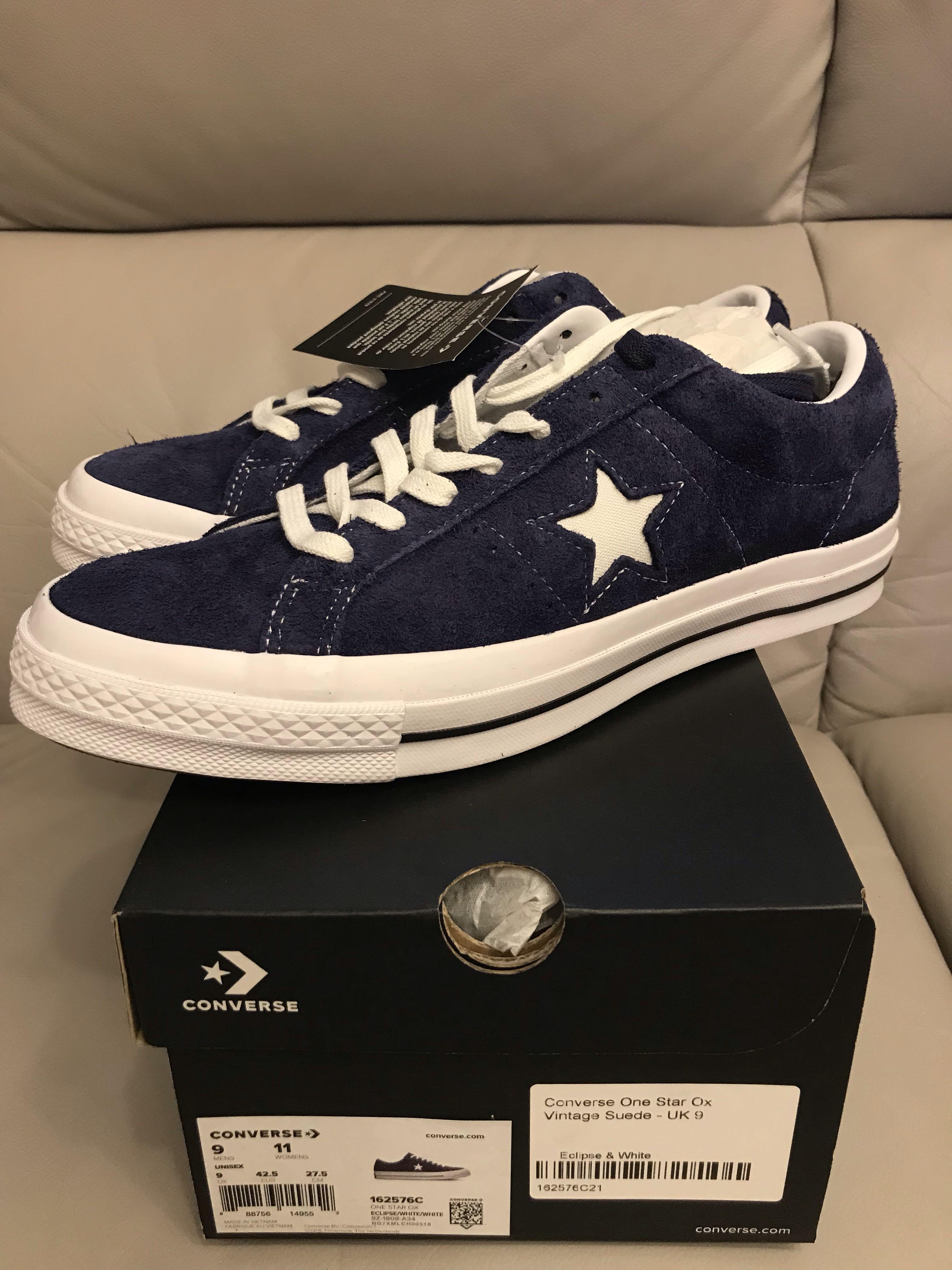 全新converse one star ox vintage suede