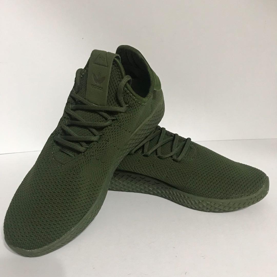 Adidas Pharrell Williams Green Sneakers