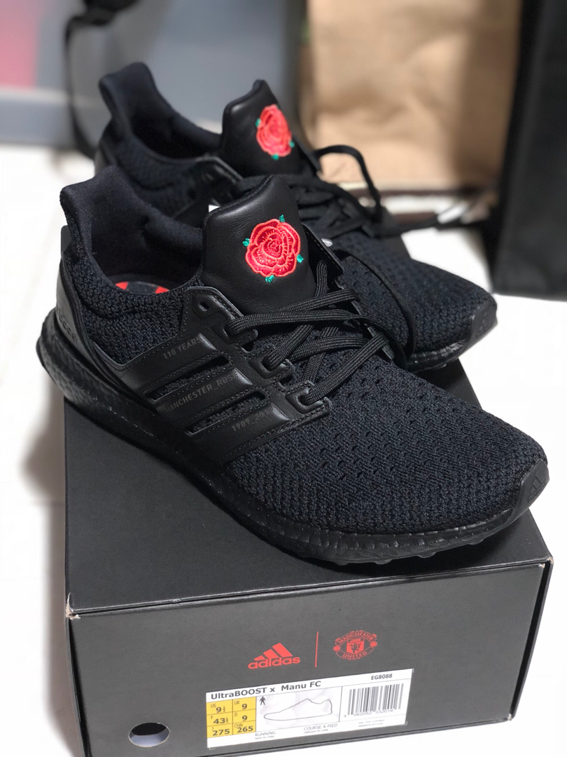Adidas Ultraboost X Manchester United Men S Fashion Footwear Sneakers On Carousell