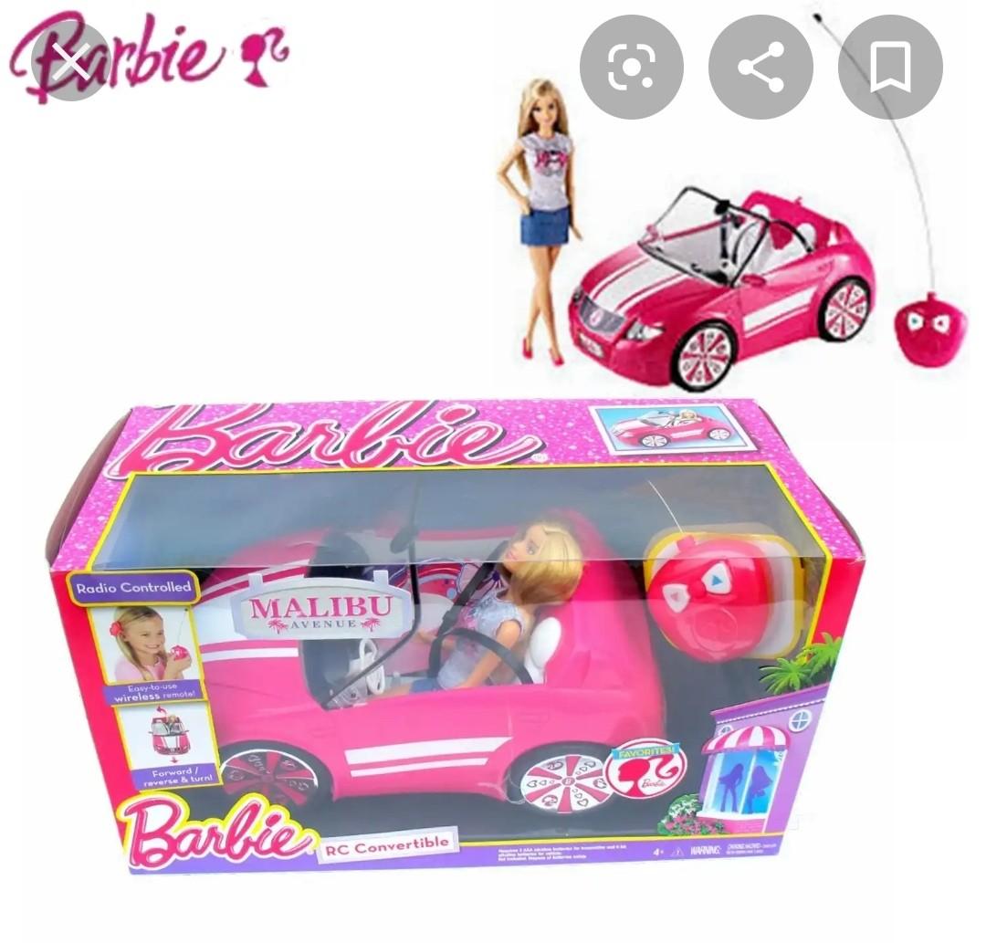 Barbie遙控車。反斗城購入。