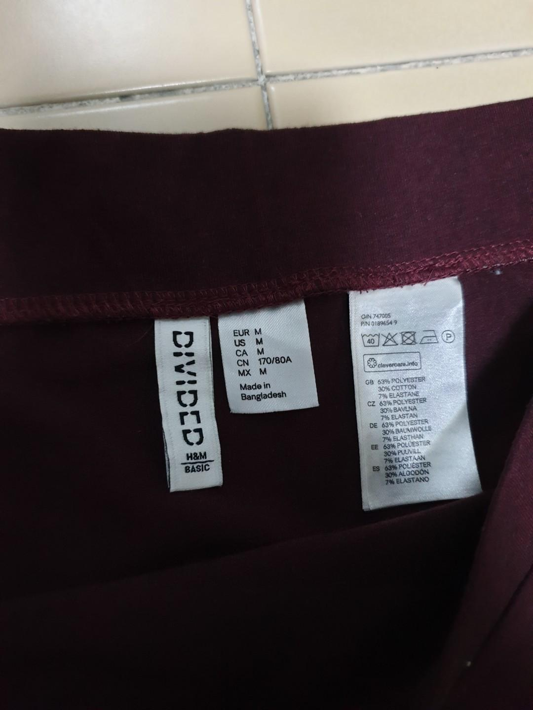 BN Cotton On Maroon Skirt