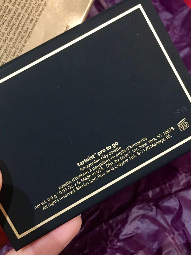 BRAND NEW RRP $29 Tarte Tarteist Pro to Go Eyeshadow Palette