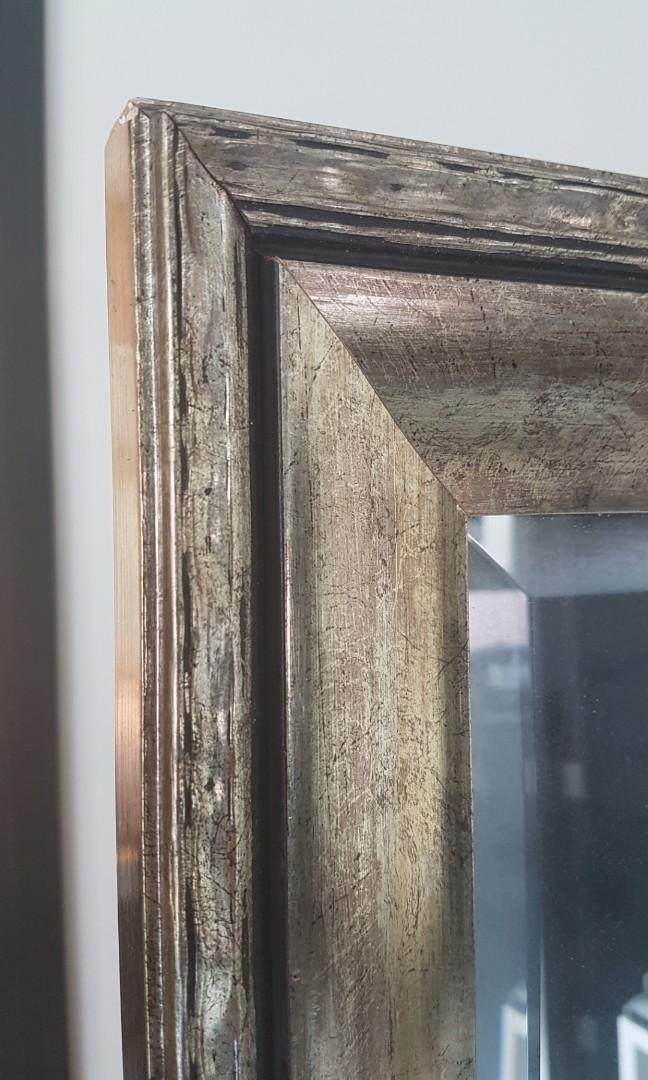 Decorative floor mirror