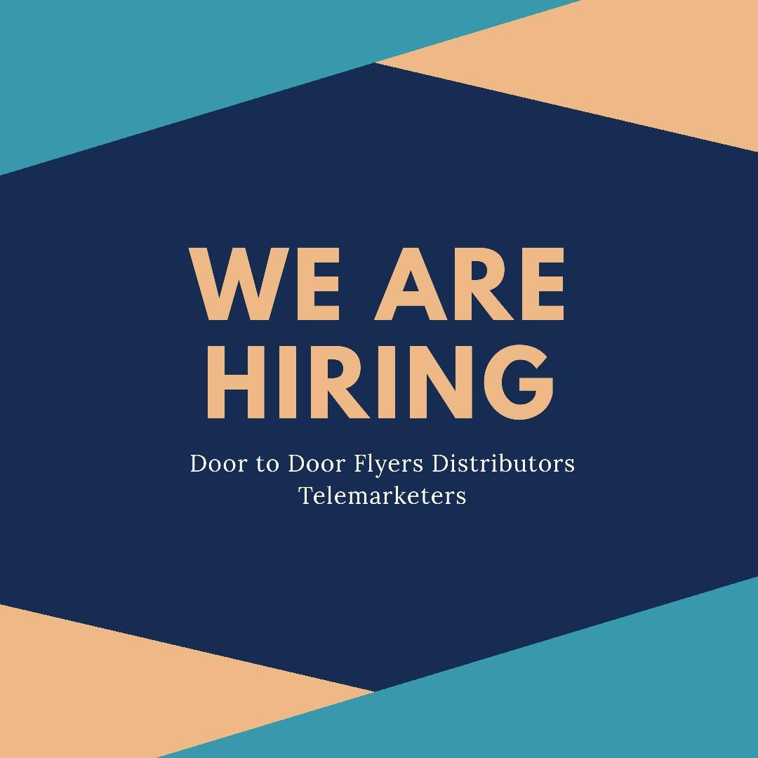 Flyers Distributor & Telemarketers