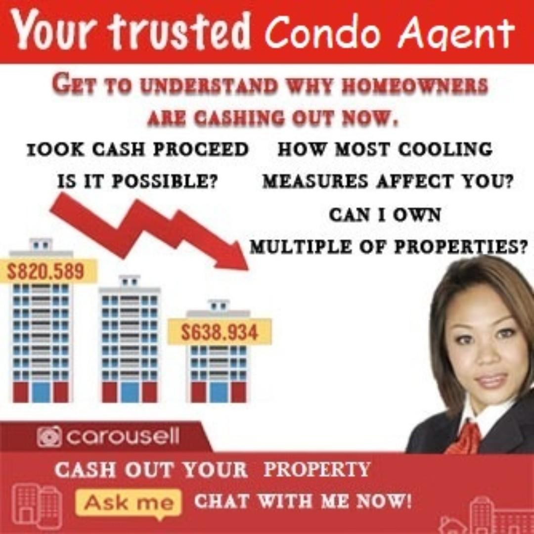 Having Troubles in Selling off your current unit? Intention to upgrade to a Bigger Flat or Condo?   Buying your 1st property OR investing in another and with just monthly combined income of $5,000?