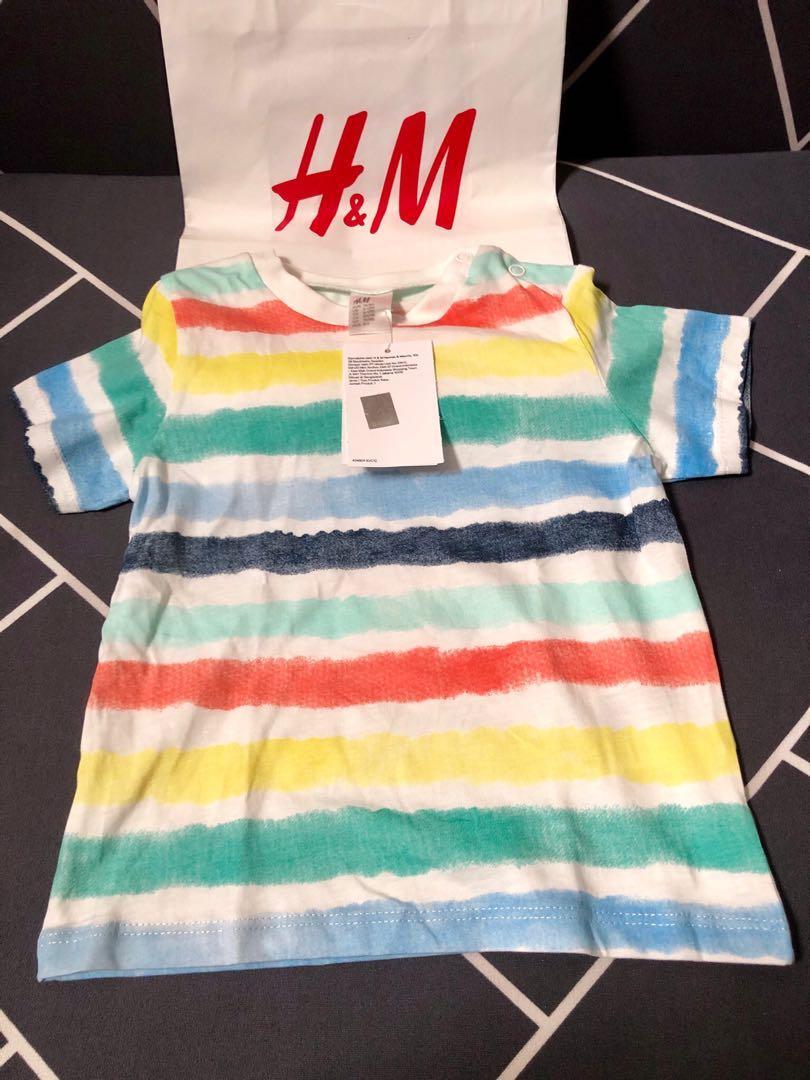 H&M TSHIRT BABY BOY