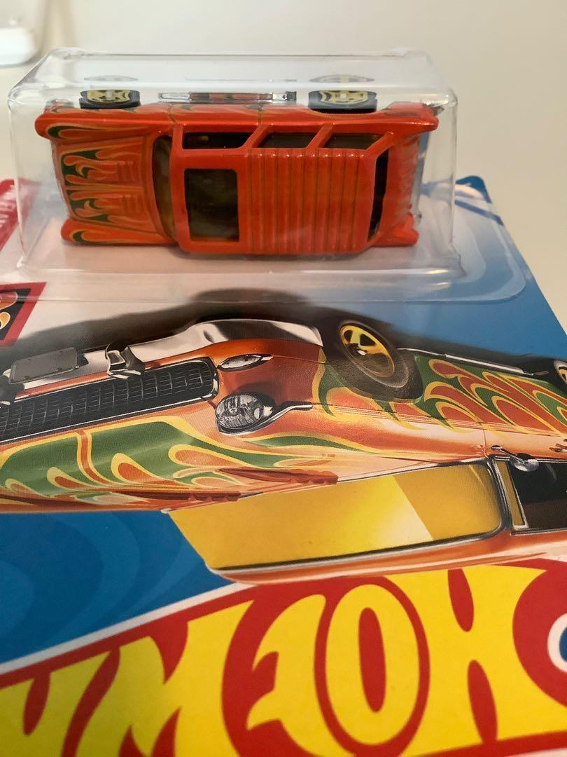 Hot wheels 1955 classic Chevrolet nomad collectible diecast car