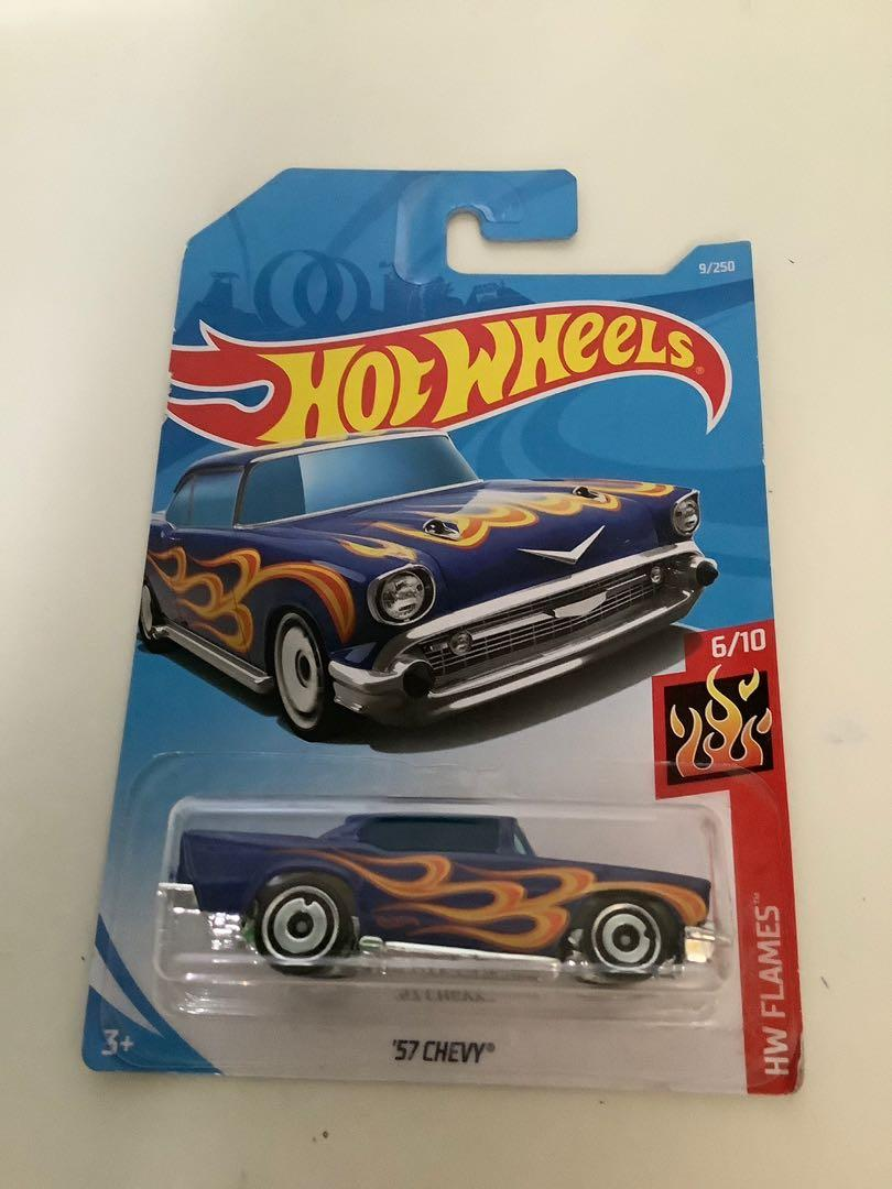 Hot wheels 1957 Chevrolet Chevy collectible diecast car