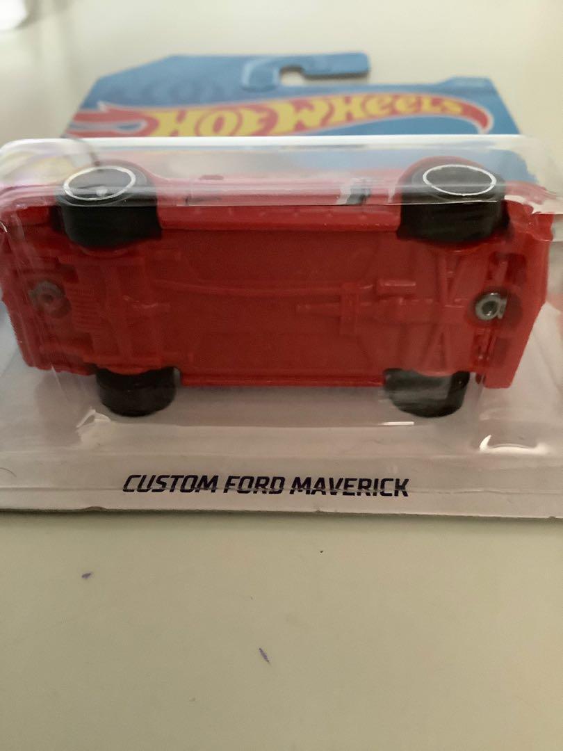 Hot wheels 2017 custom ford maverick collectible diecast car
