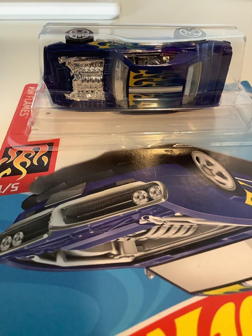 Hot wheels custom 1967 Pontiac firebird collectible diecast car