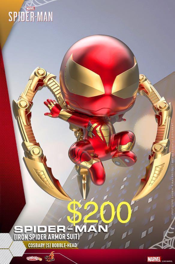 Hottoys cosbaby spiderman