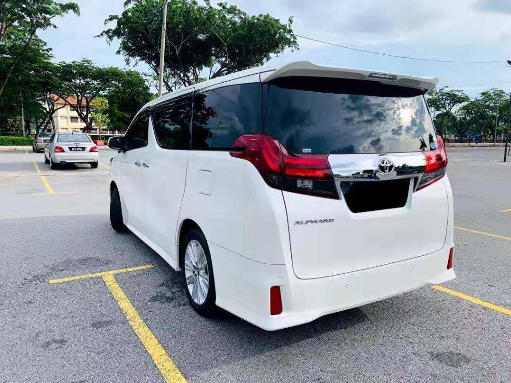 KERETA SEWA ❗ K.L Shah Alam Klang MPV Toyota Alphard 2018 ROBOT For Rent