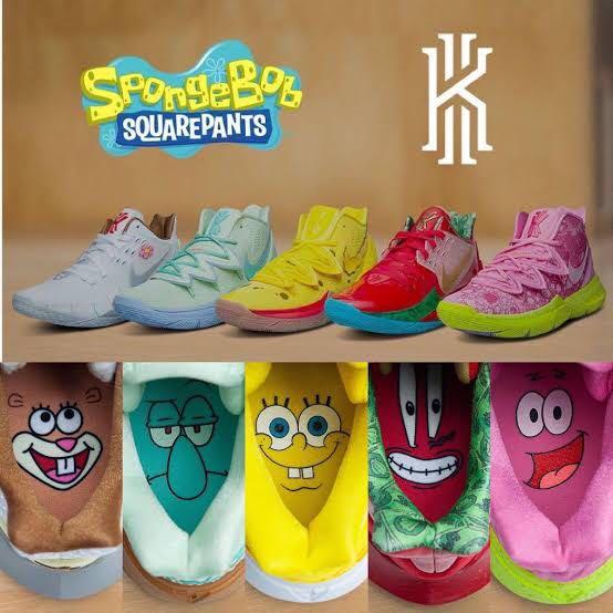 Kyrie 5 Spongebob Collection (OEM