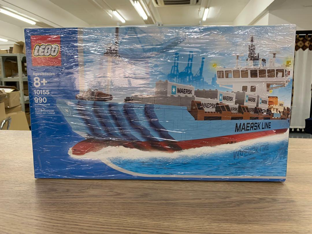 Dead Stock LEGO Sculptures Maersk Line Container Ship (10155)