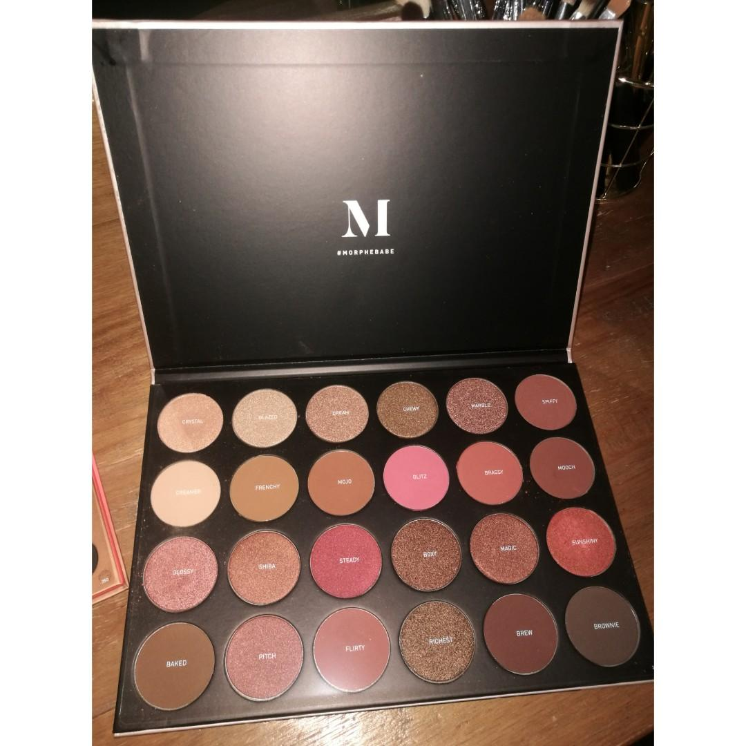 Morphe Eyeshadow Pallets
