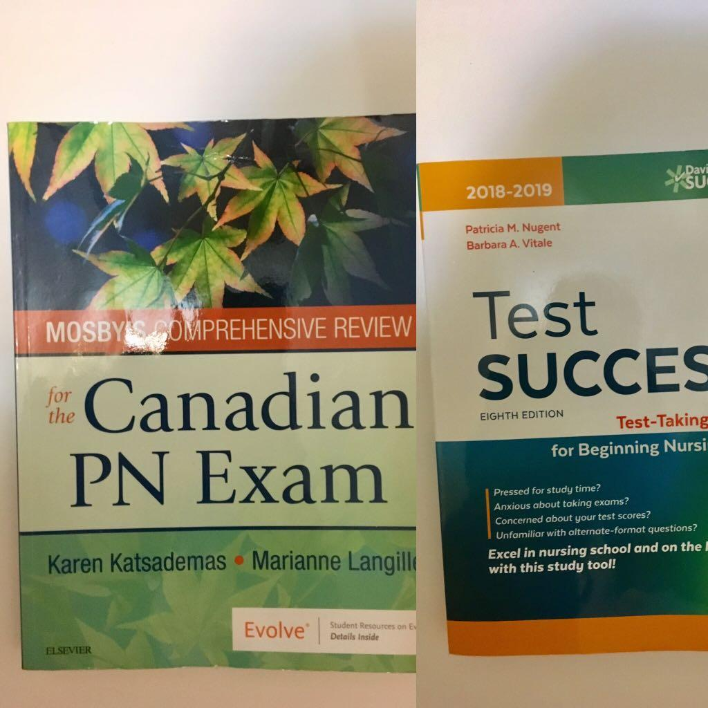Mosby's Comprehensive Review for the Canadian PN Exam, Test success