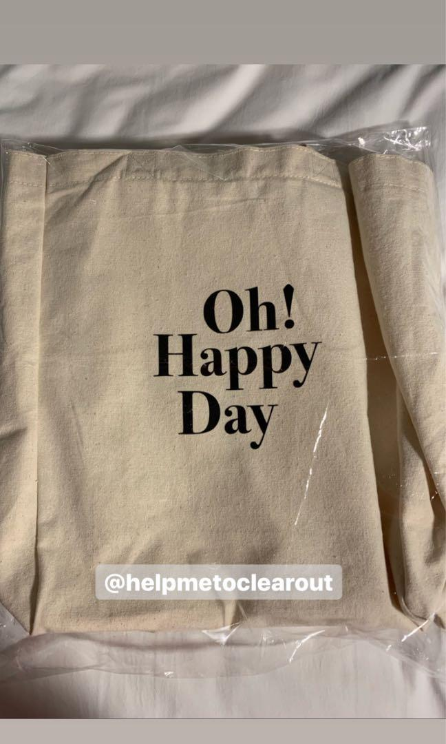 OH! HAPPY DAY. Ong Seong Wu Photo Exhibition Official Goods