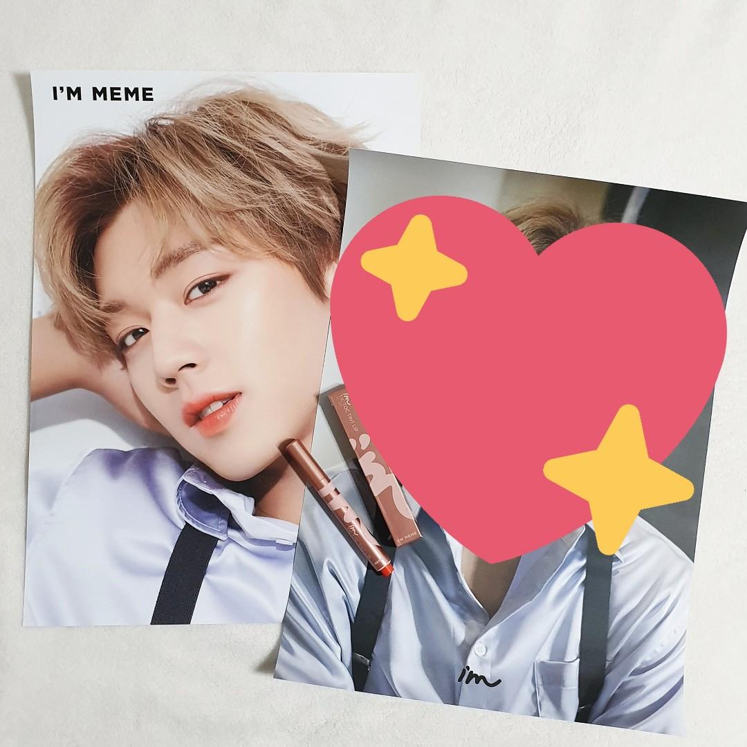 Park Jihoon I'M MEME Poster/Bromide