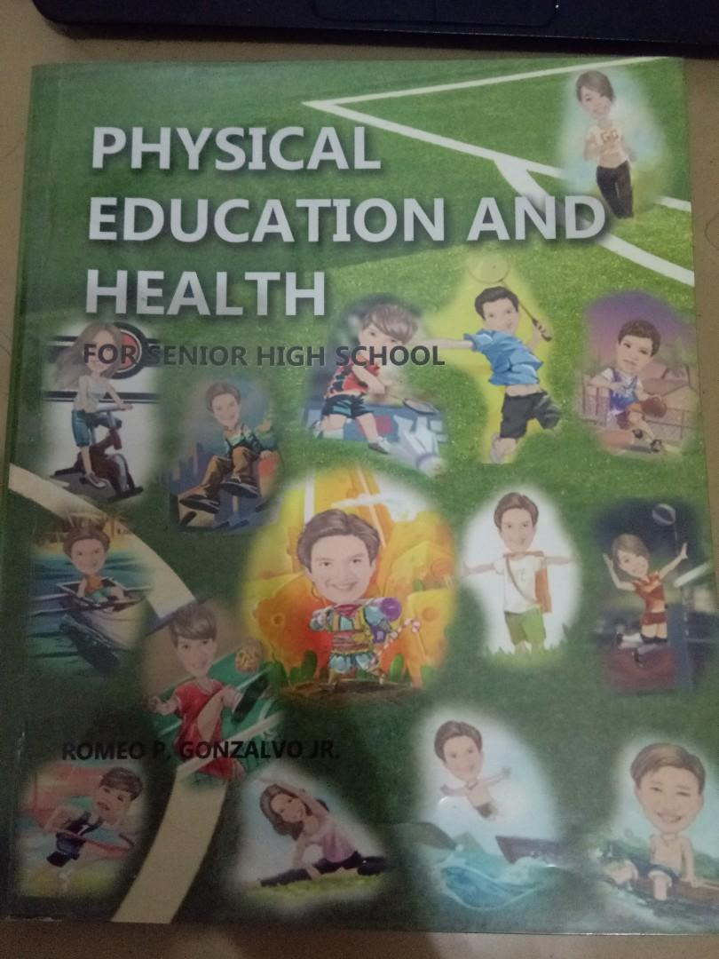 Grade 11 & Grade 12 Physical Education and Health for Senior High School by Gonzalvo