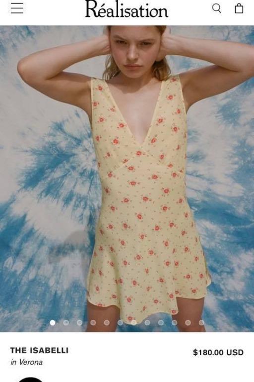 Realisation Par Isabelli Mini Dress size XS brand new