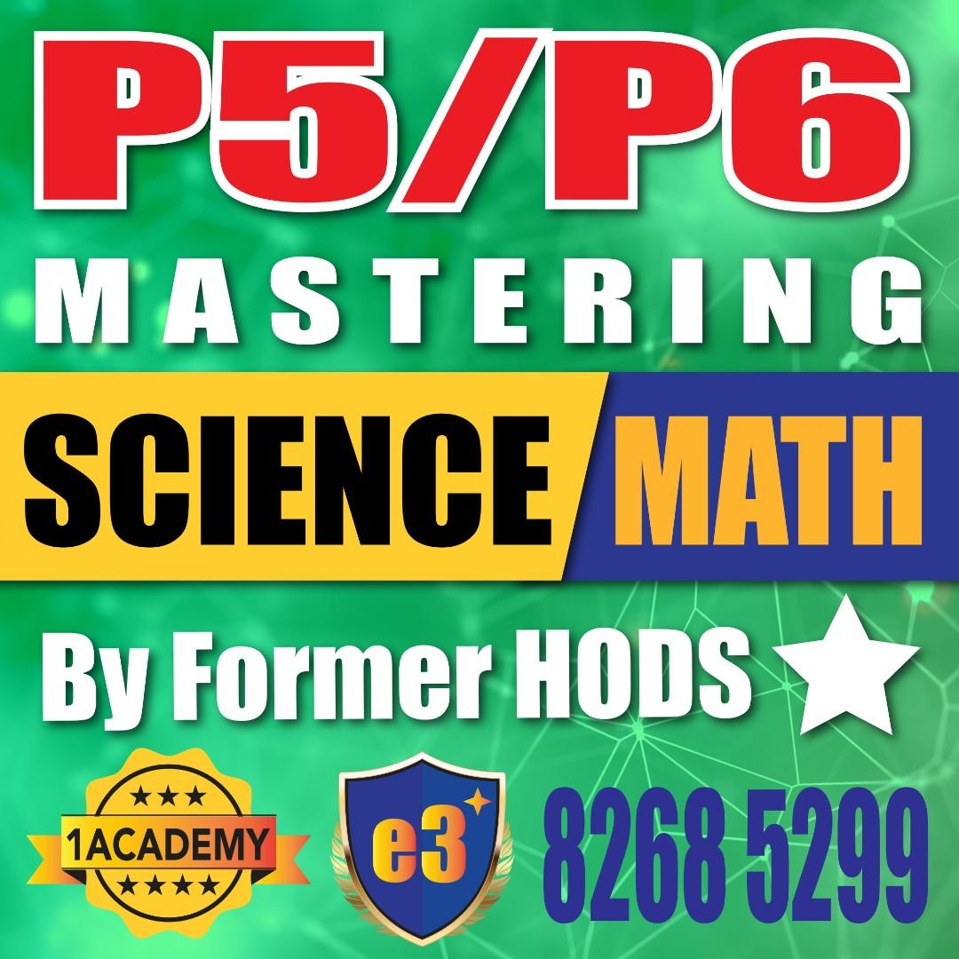 Science and Math for P5/P6
