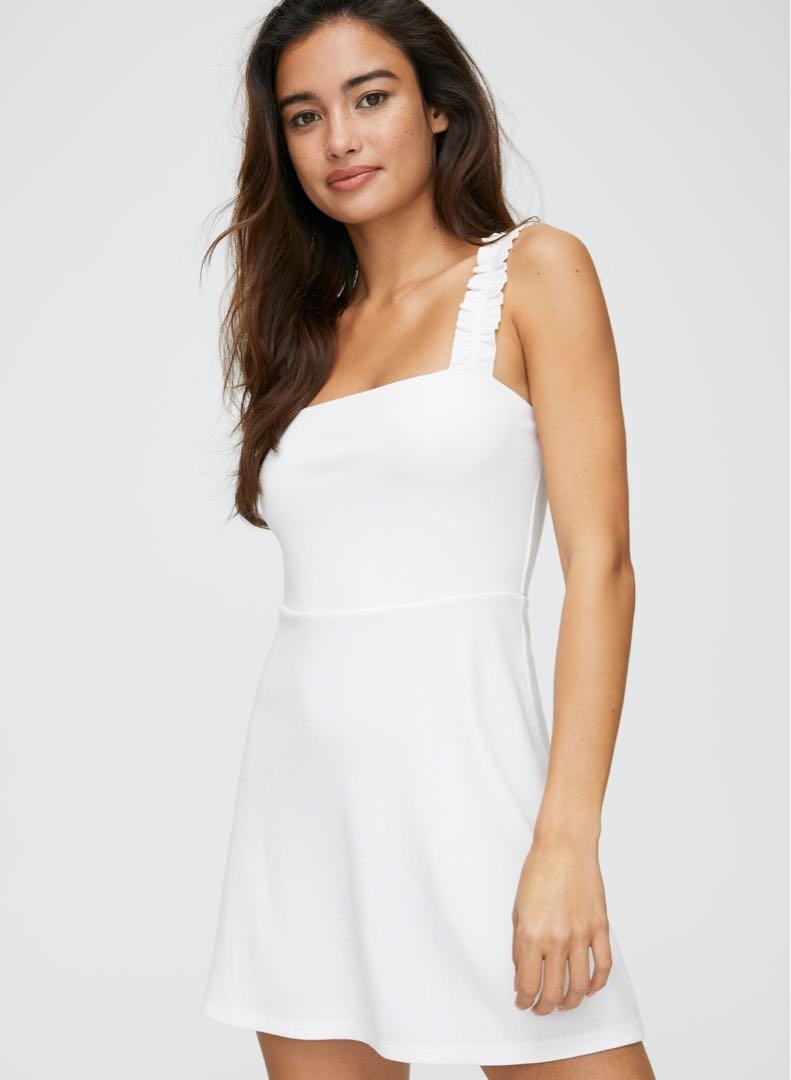 Aritzia Sunday Best Ciara Dress (White and Pink versions) M