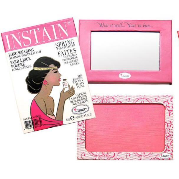 The Balm Cosmetics Instain Lace Spring For This Blush