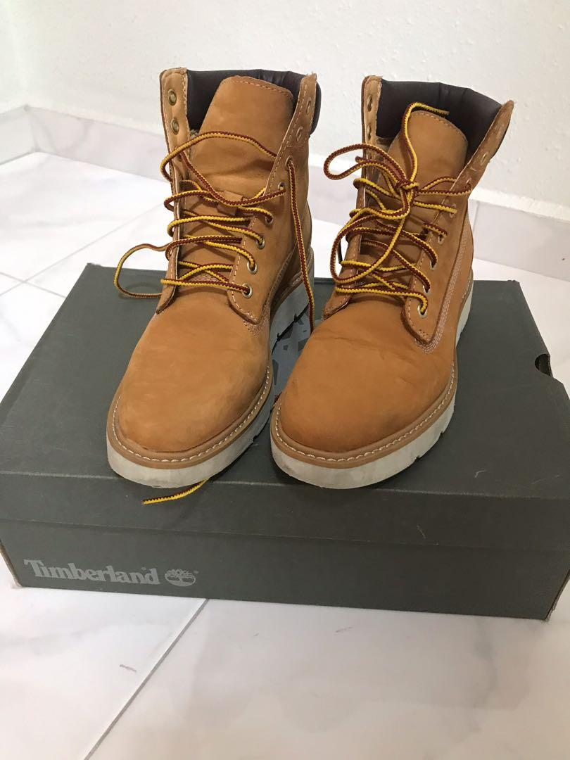 encima Meditativo notificación  Timberland Boots (Ladies, Suede material), Women's Fashion, Shoes, Boots on  Carousell
