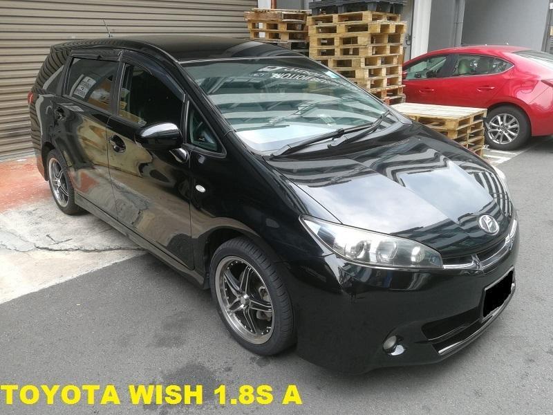 Toyota WISH1.8S ( BLACK)
