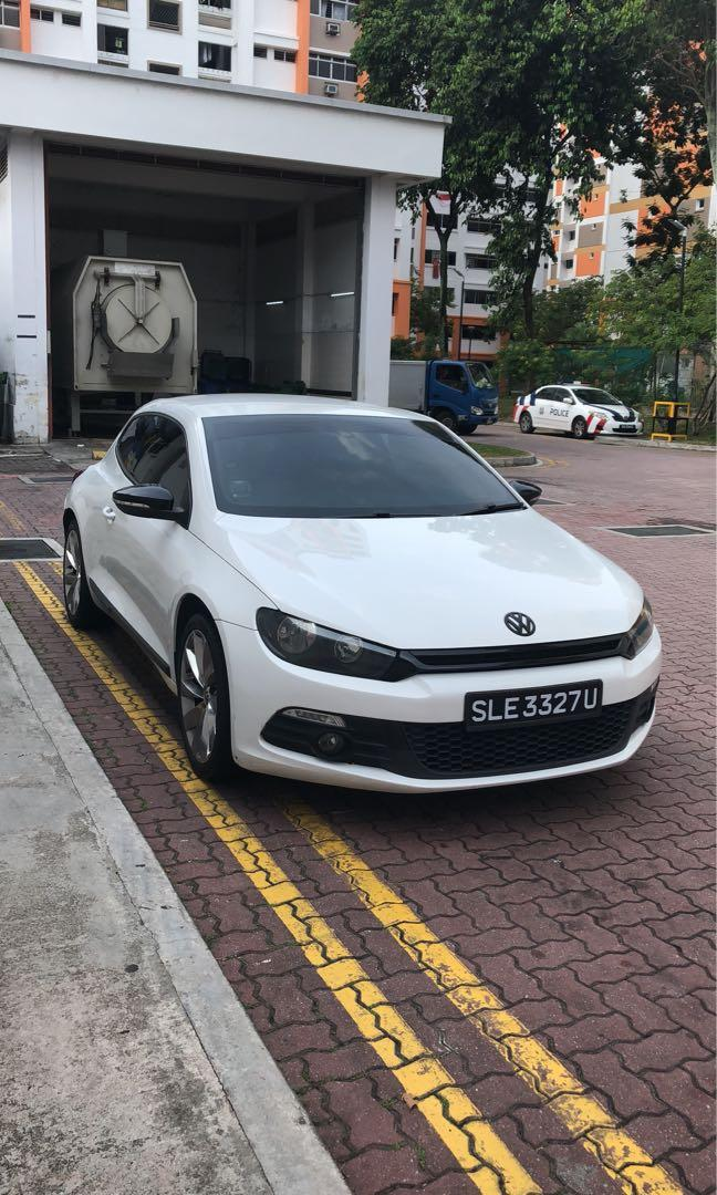 Volkswagen Scirocco 1 4a Tsi Cars Car Rental On Carousell